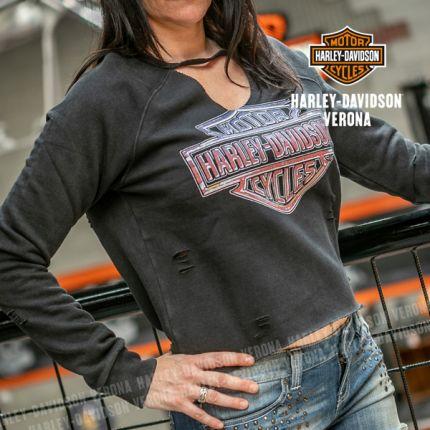 Felpa da Donna Harley-Davidson® Vintage