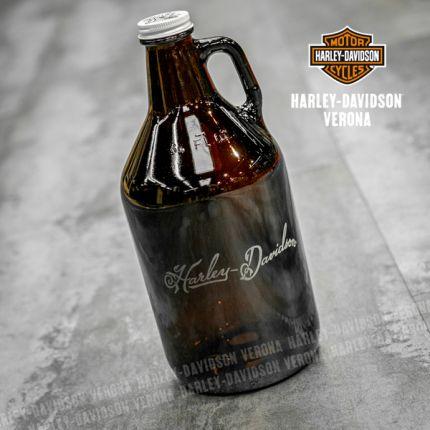 Fiasca Harley-Davidson® in vetro Ambrato