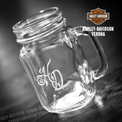 Caraffina Harley-Davidson® in vetro