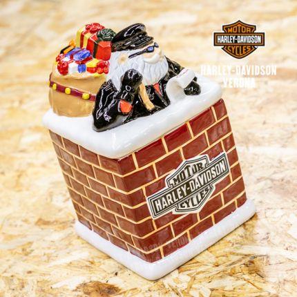 Biscottiera Biker Santa Claus Harley-Davidson®