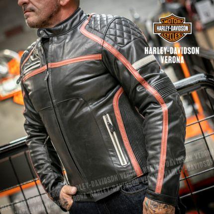 Giacca in pelle Harley-Davidson Maytor