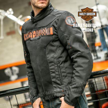 Giacca Tessuto traforato Harley-Davidson® NEMAHBIN MESH