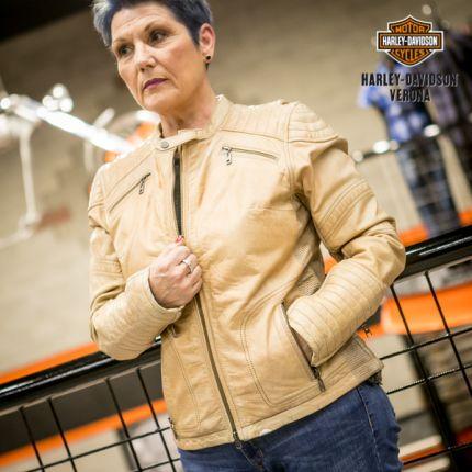 Giacca in pelle Harley-Davidson® Buff