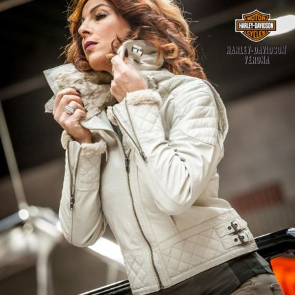 Giacca in pelle Harley-Davidson® Imperial Lea