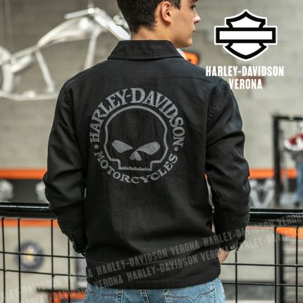 Giacca Casual Harley-Davidson® Willi G. Skull