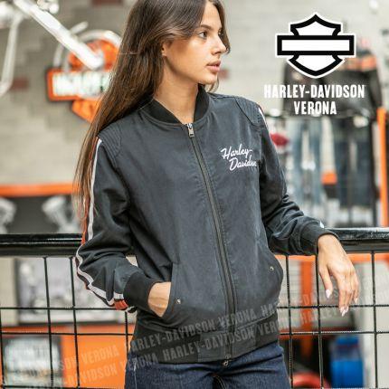 Giacca Bomber Harley-Davidson® Iconic Sleeve Stripe