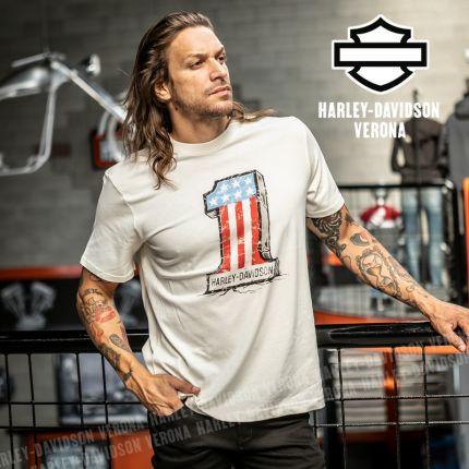 T-Shirt Harley-Davidson® Cracked #1 Graphic