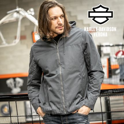 Giacca Convertibile Harley-Davidson® Grey