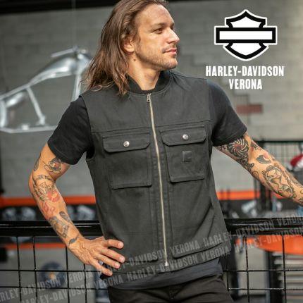 Gilet da Uomo Harley-Davidson® Waxed