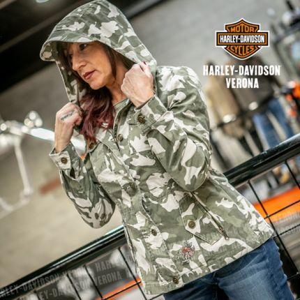 Giacca Harley-Davidson® Camo&Rose