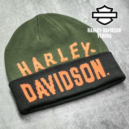 Berretto Harley-Davidson® Racer Font Green