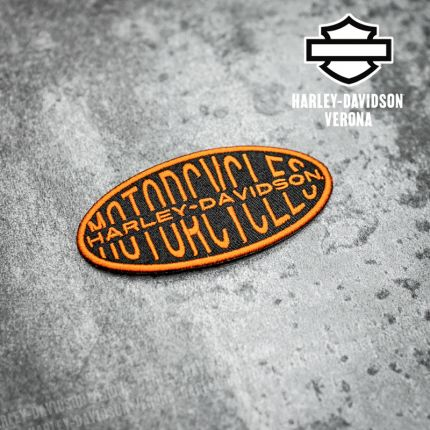 Patch Harley-Davidson® Oval Lock-up Iron-On