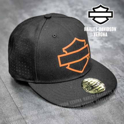 Cappellino Harley-Davidson® Open Bar & Shield Logo