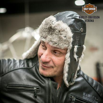 Cappello in pelle Harley-Davidson® Coyote