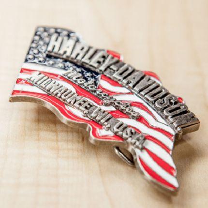 Fibbia da cintura Harley-Davidson® Flag