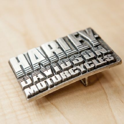 Harley-Davidson® Mens H-D Motorcycles Sculpted & Engraved Buckle