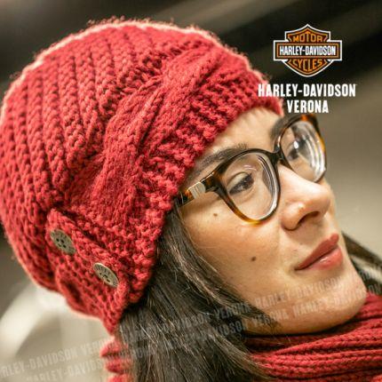 Cappellino Harley-Davidson® CHUNKY KNIT
