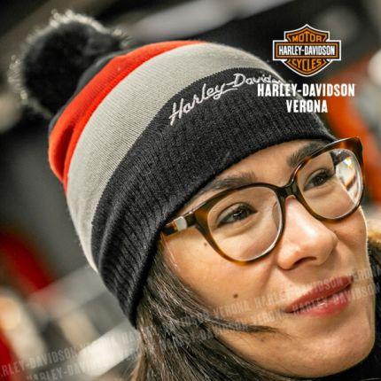 Cappellino da Donna Harley-Davidson® POM KNIT