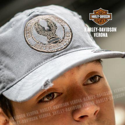 CAPPELLO DA BASEBALL HARLEY-DAVIDSON® CIRCULAR EAGLE