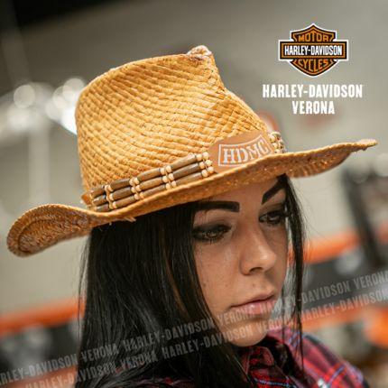 Cappello Harley-Davidson® Cowboy Straw