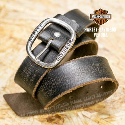 Cintura in Pelle Harley-Davidson® Distressed