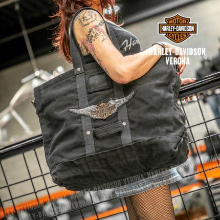 Borsa Harley-Davidson® OVERSIZED CROSSBODY TOTE