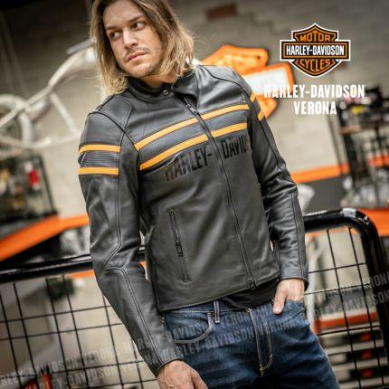 Giacca in pelle Harley-Davidson® Sidari