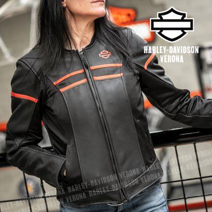 Giacca in Pelle da Donna Harley-Davidson® Brawler