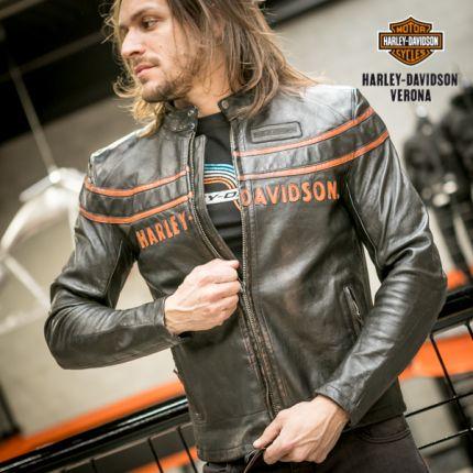 Giacca Pelle Harley-Davidson® 1903 Double Ton