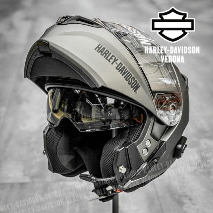 Casco Modulare Harley-Davidson® Bluetooth Outrush R Silver