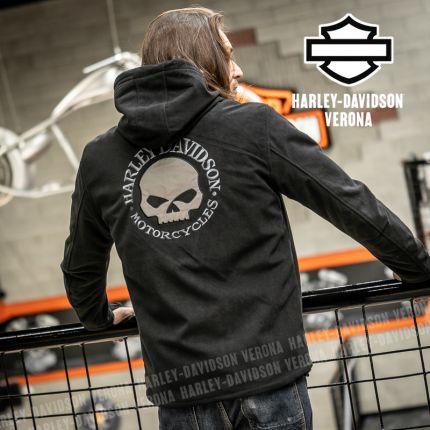 Giacca da Uomo Harley-Davidson® Cross Roads II Waterproof Fleece