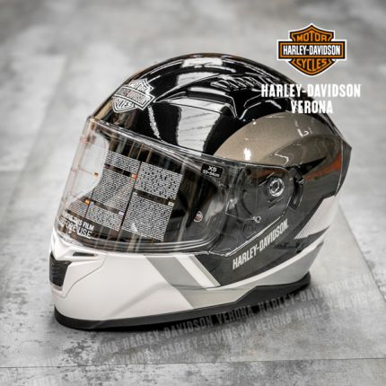 Casco Harley-Davidson® Silver Full-Face M05 Killian