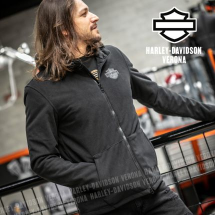 Giacca da Uomo Harley-Davidson® Roadway II Waterproof Fleece