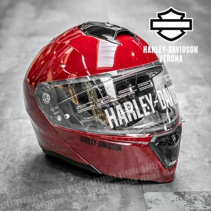 Casco Harley-Davidson® Capstone Billiard Red
