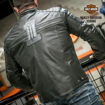 Giacca in pelle Harley-Davidson® #1 SKULL