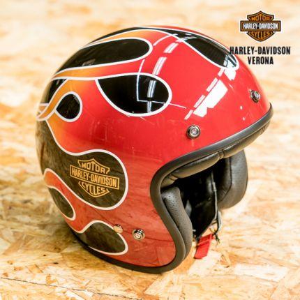 Casco semi-integrale Harley-Davidson® Retro Flame