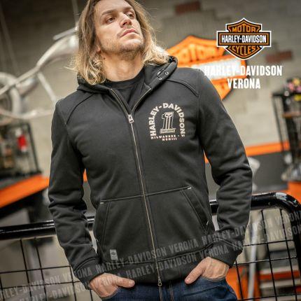 Felpa Harley-Davidson® Arterial Abrasion-Resistant Black
