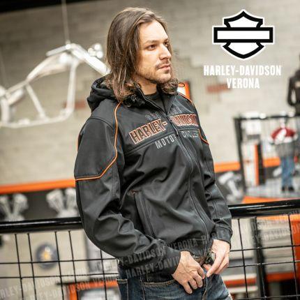Giacca Harley-Davidson® Idyll Windproof Soft Shell
