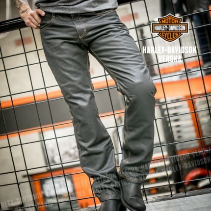 Harley-Davidson® PANT-WAXED DENIM RIDING JEAN
