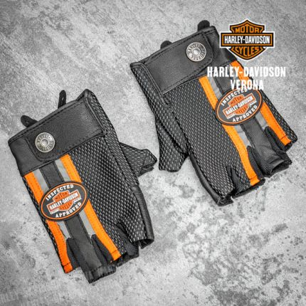 Guanti Harley-Davidson® Mixed Media Fingerless