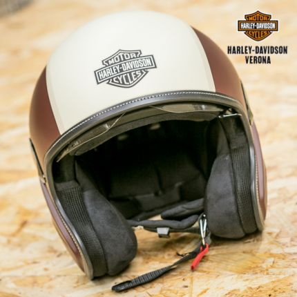 Casco 3/4 bicolore Harley-Davidson®