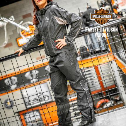 Tuta da Donna Harley-Davidson® riflettente Antipioggia