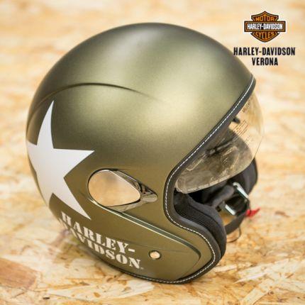Casco Harley-Davidson® verde militare