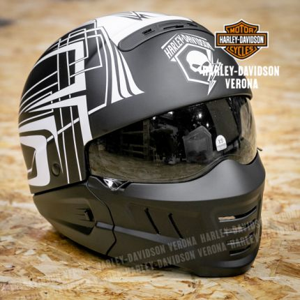Casco Harley-Davidson® Skull Lightning 2-in-1 X04