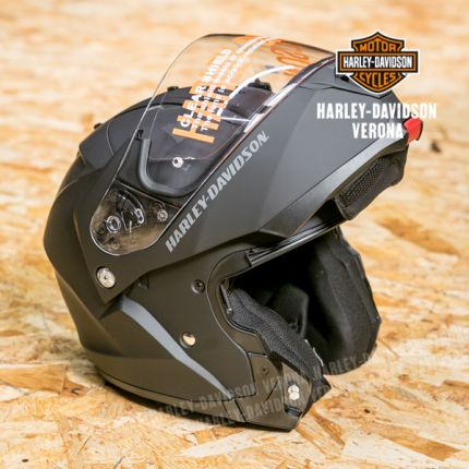 Harley-Davidson®  Helmet - Mod Capstone Snshld h 24 Mat Blk