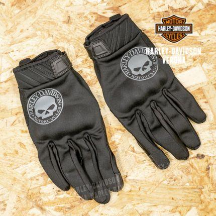 Guanti Touchscreen Harley-Davidson® con Teschio