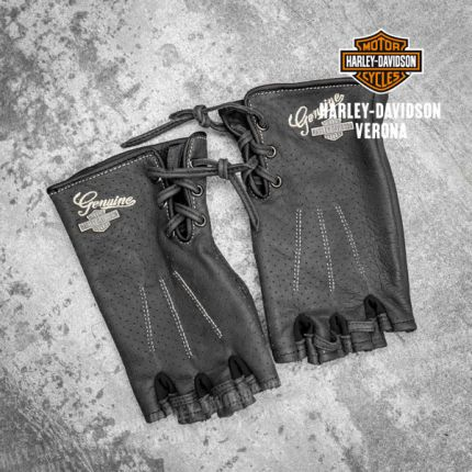 Guanti senza dita Harley-Davidson® Distressed Perforated