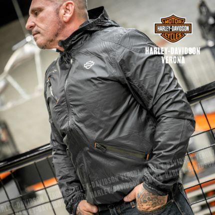 Giacca Harley-Davidson® da uomo in nylon Ripstop