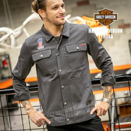 Giacca camicia Harley-Davidson® #1 Stretch Slim Fit
