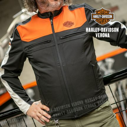 Giacca da Uomo Harley-Davidson® B&S Soft Shell